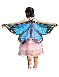 Disfraz Para Mujer/Niños, ❤️Xinantime Alas de Mariposa Volando Hada Accesorio Traje Duendecillo