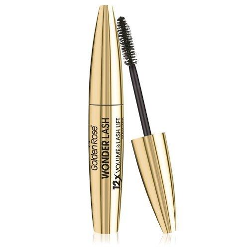 Golden Rose Cosmetics WonderLash Mascara 12x Volume and Lash Lift by Golden Rose Cosmetics