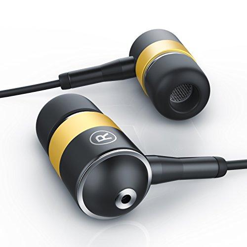 Premium ALU - Cuffiette / auricolari stereo In-Ear   Nuova