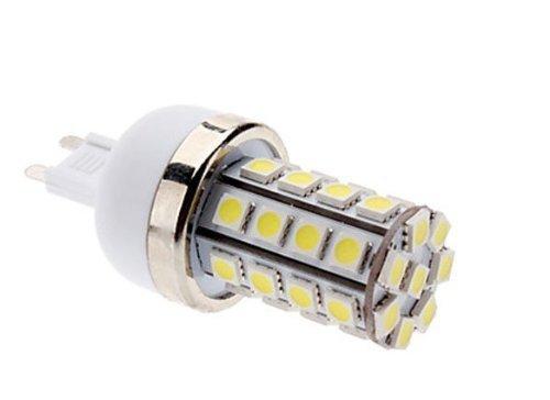 Preisvergleich Produktbild Lanlan 85–265 V G9 7 W 36 x 5050 SMD 700–750lm 6000–6500 K Natural White Light LED Mais Glühbirne
