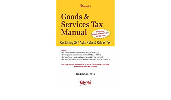 amazon in buy goods and service tax manual book online at low rh amazon in Tax Guide Tax Professional