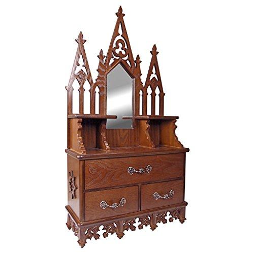 Manor-konsole (Vitrine - Claremont Manor - Wand befestigten Curio Cabinet)