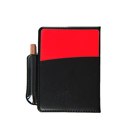 EASE Referee Notebook Card set  Soccer Referee Red And Yellow Cards Replacement Cards Notebook Score Sheets