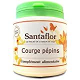 Santaflor - Courge pépins - gélules240 gélules gélatine végétale