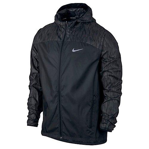 Nike Shield Flash Herren Jacke, schwarz, L
