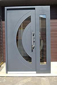 nr 7 design haust r wohnungst ren in anthrazit 1400x2100 mm innen din rechts sicherheit t ren. Black Bedroom Furniture Sets. Home Design Ideas