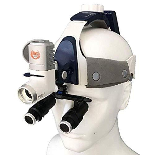 5W Chirurgisch Medizinische Kopflampe einstellbare zahnärztliche Stirnlampe mit hoch Helligkeit...