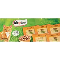 Kitekat Katzenfutter Landpicknick in Sauce, 48 Stück (48 x 100 g)