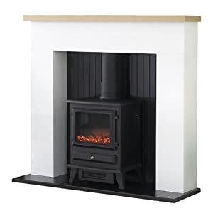 Adam Innsbruck Surround with Hudson Electric Stove, 2000 Watt