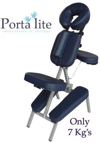 Stil-massage-stuhl (Porta-Lite Advantage Massage Stuhl: tragbar und leicht, professionelle Stil mit herausnehmbarem brustbeinkissen [Marineblau])