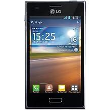 """LG Optimus L5 - Smartphone libre Android (pantalla 4"""", cámara 5 Mp, 4 GB, 800 MHz,512 MB), negro"""
