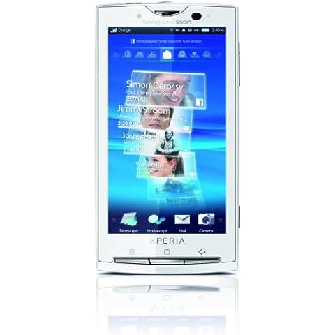 Sony Ericsson Xperia X10 - Teléfono Móvil Libre con sistema operativo Android - Blanco