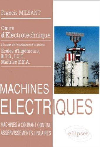 Machines électriques: Machines à coura...