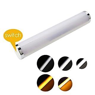 A-szcxtop Mückenschutz und LED-Notfall-Beleuchtung 2in1USB aufladbare LED Mosquito 5Datei Schalter Style tragbarer insektenabweisend Lampen