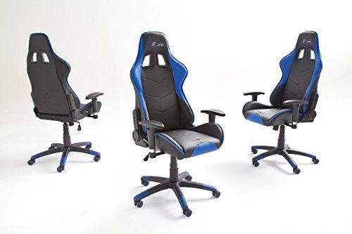 Bürostuhl Gamingstuhl 62497sb3 BüGeln Nicht Mc Racing 7 Schreibtischstuhl, blau