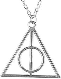 Inception Pro Infinite Collar con Colgante Tiempo Inspirado en la película de Harry - Deadly Hollows Silver Color