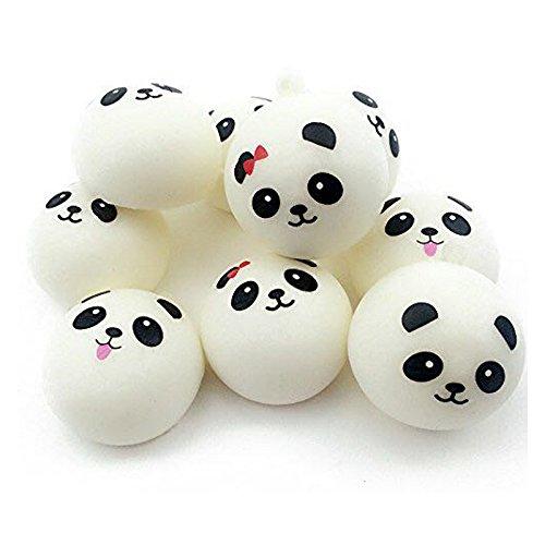 cm Jumbo Squishy Cute Panda Charms Brötchen Handy Charm Anhänger Tasche Gurt ()