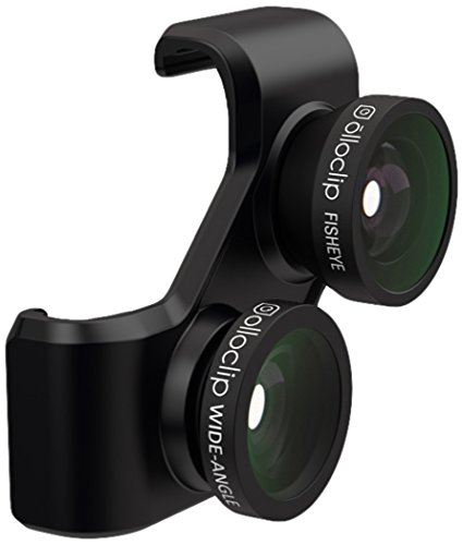 olloclip 4-In-1 Lens for Samsung Galaxy S4 - Retail Packaging - Black