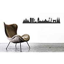 Adhesivo decorativo grises BARCELONA - CITY pegatinas 44spaces