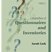 Compendium of Questionnaires and Inventories, Vol. 1 Lslf edition by Sarah Cook (2007) Ring-bound