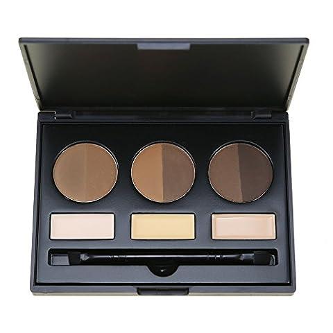 Sleek MakeUP Augenbrauen Tint Kit, Lover Bar creme Contour Palette