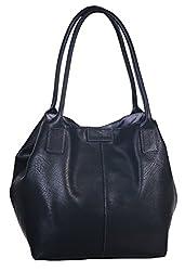 TOM TAILOR Shopper Damen, MIRIPU, (schwarz 60), 44x28x18 cm, TOM TAILOR Schultertasche, Handtaschen Damen