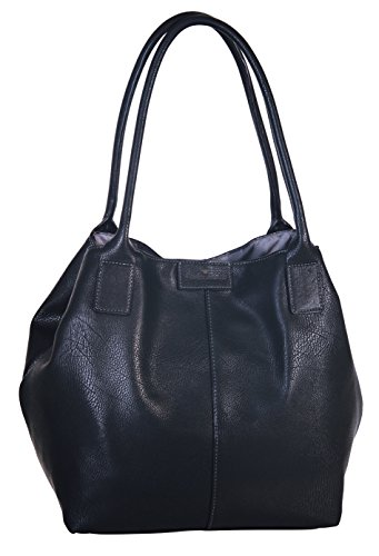 Tom Tailor Acc Damen MIRIPU Shopper, (schwarz 60), 44x28x18 cm
