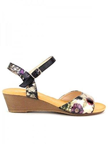 Cendriyon, Sandale Multicolore SUREDELLE Chaussures Femme Multicolore