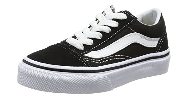 6dc0ecea8e Vans Unisex Kids UY Old Skool Low-Top Sneakers