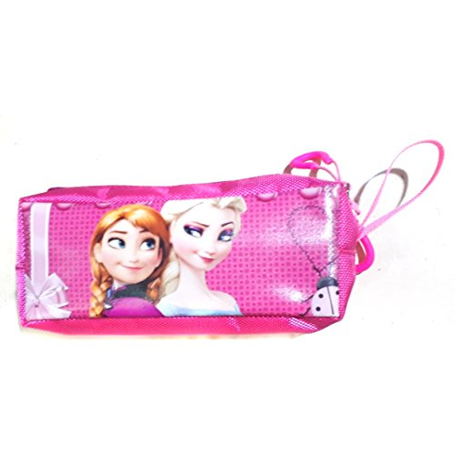 Frozen pen pouch for girls pink colour 3 pocket M  available at amazon for Rs.200
