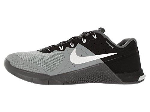Nike  Wmns Metcon 2, Sneakers femme gris - Gris (Stealth / White-Black-Dark Grey)
