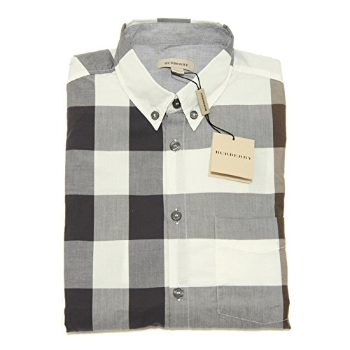 6437f-camicia-burberry-manica-lunga-botton-down-cotone-camicie-bimbo-shirt-kids-5-years