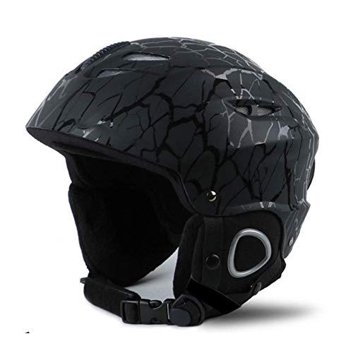 L&WB Ski-Helm-Schutzausrüstung Snowboard Ausstattungsschutz Erwachsene Ultraleicht echte Schutzhelm,A,M
