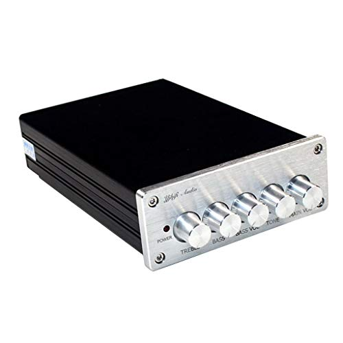 FLAMEER Mini 2 * 50W + 1 * 100W 4.2 Bluetooth Digital 2.1 Channel Leistungsverstärker Amplifier HiFi Stereo Class D Verstärker