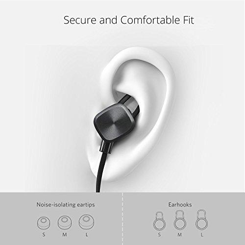UMIDIGI Bluetooth Kopfhörer, wireless Kopfhörer Stereo In Ear Ohrhörer mit Magnet, Bluetooth 4.1, 8-Stunden-Spielzeit, IPX6 Spritzwasserfest, Kabellose Headset mit Mikrofon für iPhone iPad Samsung Galaxy Note und Android Handy - 6