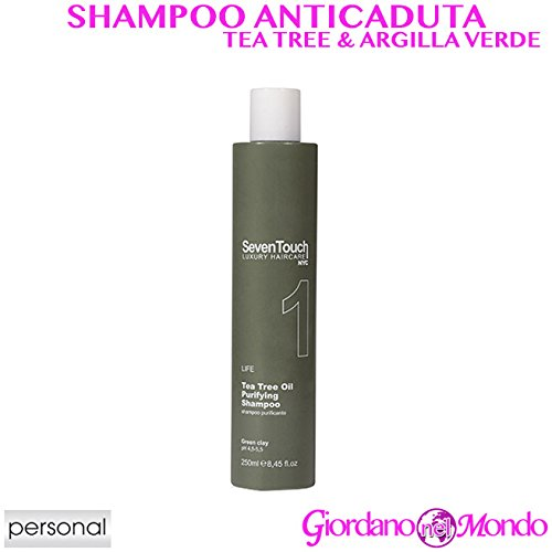 SHAMPOO PURIFICANTE ANTIFORFORA PER CAPELLI AL TEA TREE ED ARGILLA VERDE 250 ml PERSONAL PROFESSIONA