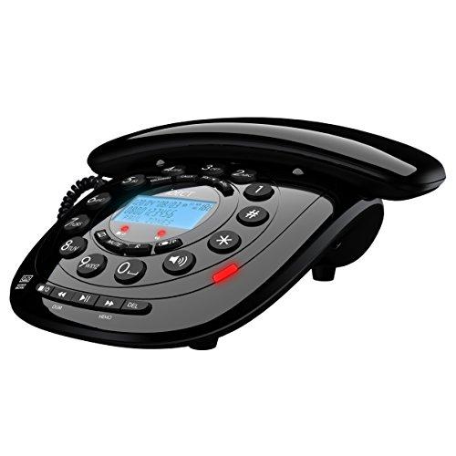 Teléfono clásico iDECT con bloqueo de llamadas,colornegro