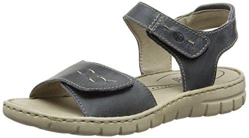 Josef Seibel Damen Stefanie 21 Riemchensandalen, Blau (Jeans), 40 EU (Sportliche Denim-sandalen)