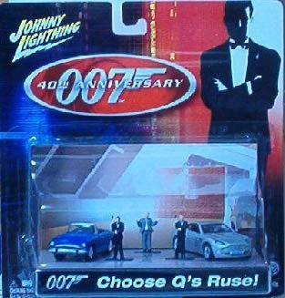 James Bond 40th Anniversary Choose Q's Ruse Diecast Car by Johnny Lightning (Lightning Johnny Diecast Cars)