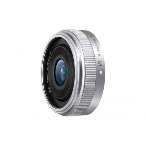 Buy Panasonic H-H014AE-S Micro Four Thirds 14mm Single Focal Length Lens – Silver Special