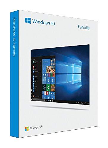 Microsoft Windows 10 Edition Famille – Système opérateur 32/64bits - Clé USB 3.0