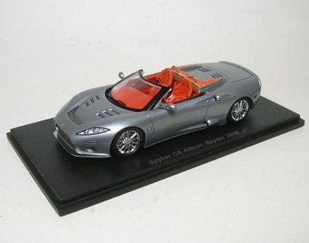 spyker-c8-aileron-spyder-silber-2010