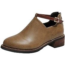 Zapatillas Mujer BBestseller Zapatos Casuales Cabeza Redonda Zapatos Planos para Mujeres Zapatos con Cordones Zapatos Deportivos