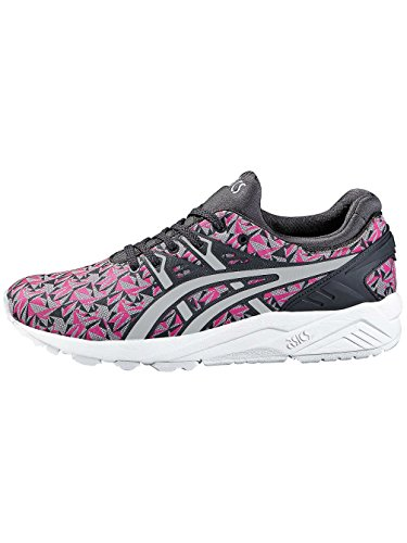 Asics Gel-kayano Trainer Evo - Baskets Basses Athlétiques Unisexes - Adulte, Rose (knockout Rose / Gris Clair 2013), 44 Eu Rose / Gris