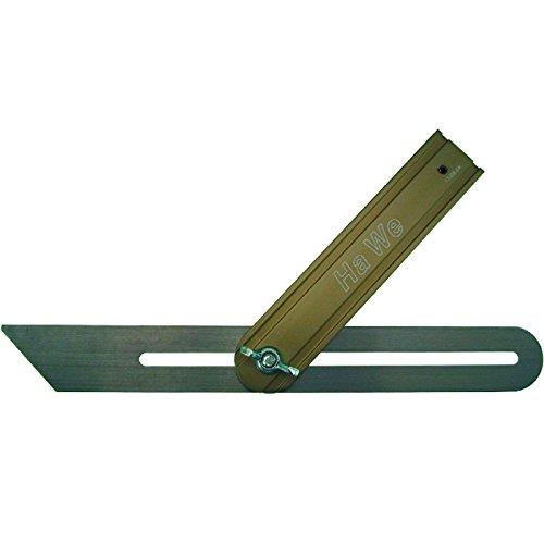 HaWe 957.25 Schreiner-Schmiege 250mm aus Aluminium