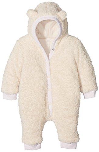Esprit Kids Unisex Baby Latzhose, Weiß (Off White 110), One size (Herstellergröße: 62)
