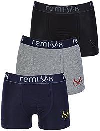 Remixx Jungen Retroshorts 3er Pack Farbmix