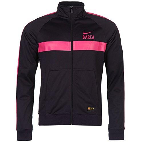 Nike Barcelona Training Jacke Herren PURP/Rosa, Fußball Trainingsanzug Track Top, violett / pink (Barcelona Nike Rosa)