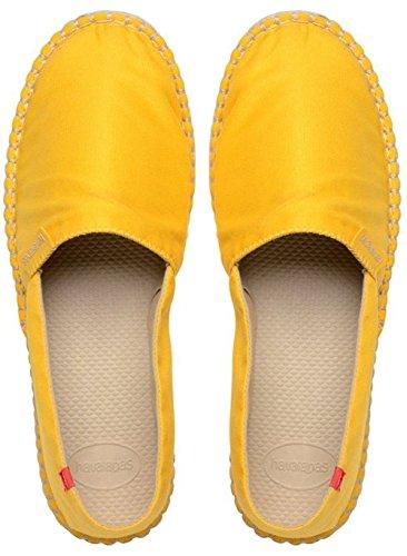 HavaianasOrigine Ii - Espadrillas Unisex adulti, Giallo (Yellow (Yellow Yolk 6344)), 40  EU(38 BR)