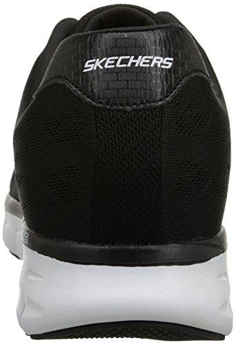 Skechers SynergyFine-Tune Herren Sneakers Schwarz (Bkw)